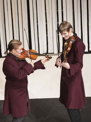 Vivaldi och tjejerna med Radiokören och REbaroque
